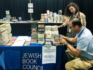 Signing Books for the JBC at the URJ Biennial